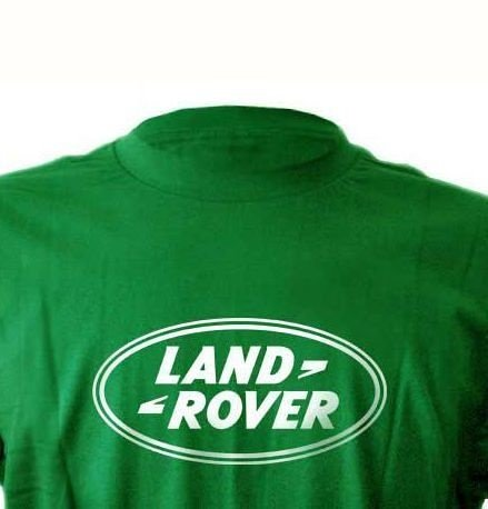 FR049-B  Camiseta - Estampa Land Rover