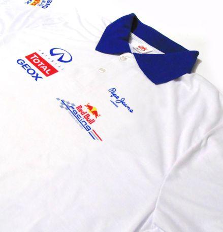 ES051 - Camisa Pólo Dry Fit - Estampa Equipe  Redbull Racing F1