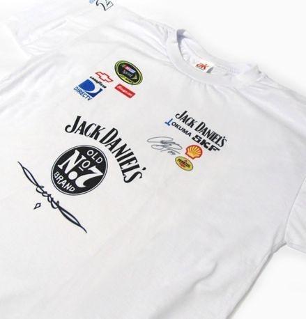 ES055 - Camiseta Dry Fit - Jack Daniel's Nascar Racing Pit Crew