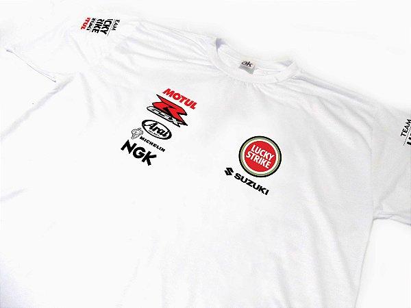ES081-A - Camiseta Dry Fit - Team SUZUKI - MOTO GP