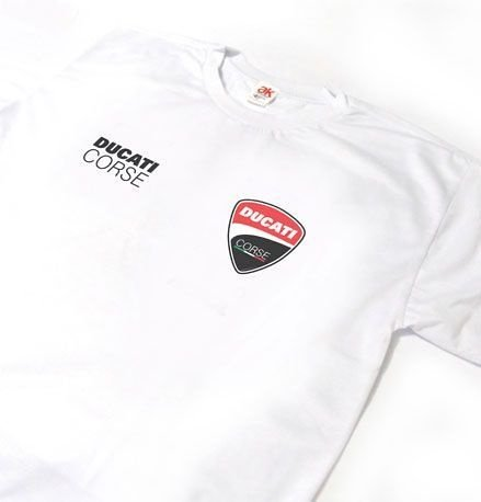 MK018 - Camiseta - Estampa DUCATI