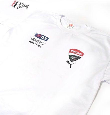 ES068 - Camiseta - Estampa DUCATI RACING