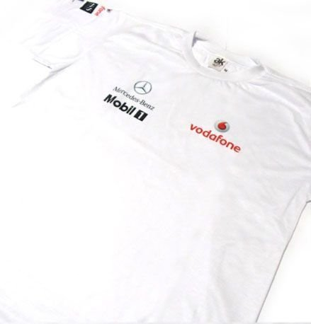 ES067 - Camiseta Dry Fit - Estampa MERCEDES VODAFONE