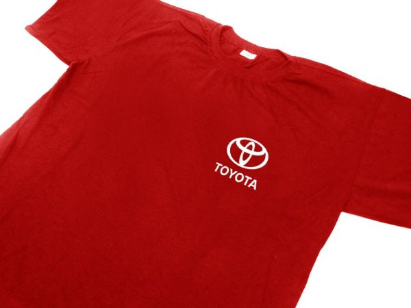 FR167 - Camiseta Estampa - TOYOTA - MD1- vermelha