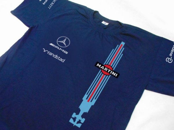 FR168 - Camiseta WILLIAMS MARTINI RACING F1
