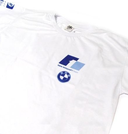 ES072 - Camiseta - Estampa BMW Williams F1 Team