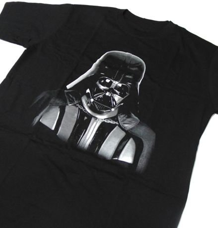 MH018 - Camiseta Estampa DARTH VADER - em SILK