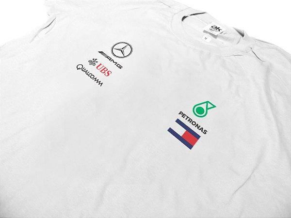 FR171 - Camiseta Mercedes PETRONAS F1 - Base 2018