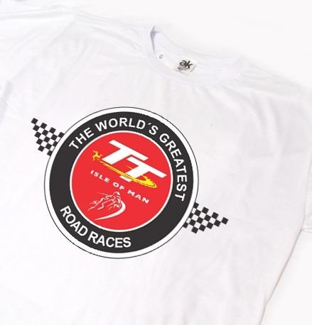 ES074 - Camiseta DRY FIT - TT ISLE OF MAN 2 - The World's Greatest Road Race