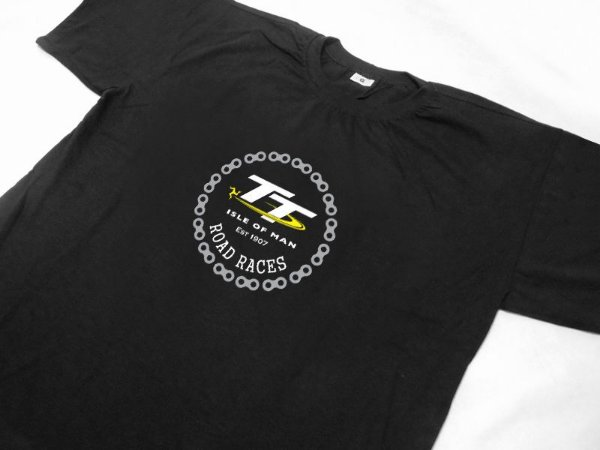 FR176 - Camiseta TT ISLE OF MAN - EST 1907 - ROAD RACES