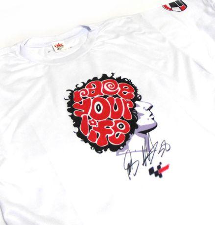 FR129 - Camiseta MARCO SIMONCELLI - SIC 58 - MOTO GP
