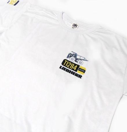 MK035 - Camiseta - Estampa LIEBHERR TI284 400 TONS