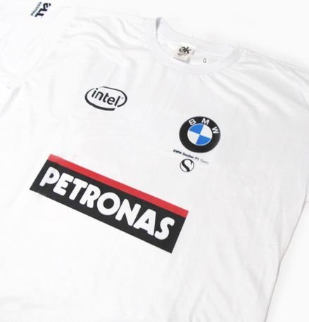 ES079 - Camiseta Dry Fit  - Estampa BMW SAUBER F1