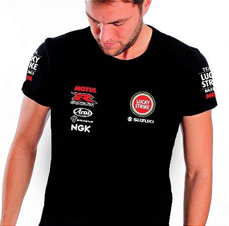 FR190 - Camiseta SUZUKI LUCKY STRIKE