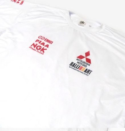 ES092 - Camiseta Dry Fit - Estampa Equipe Mitsubishi Motors Rally WRC