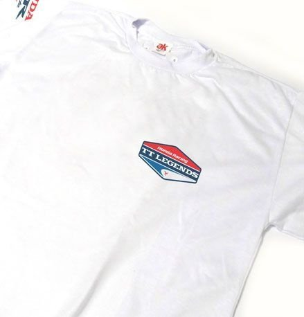 ES108 - Camiseta Estampa TT LEGENDS HONDA RACING