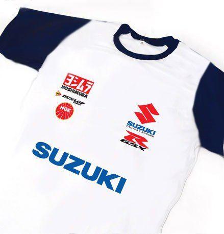ES112 - Camiseta Dry Fit - Estampa SUZUKI - MOTO GP