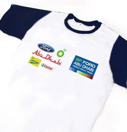 ES113 - Camiseta Dry Fit - Estampa FORD W. Rally Team