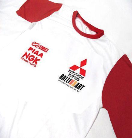 ES118 - Camiseta Bicolor Dry Fit - Mitsubishi Motors Competition