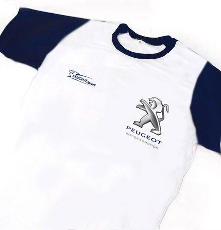 ES122 - Camiseta Dry Fit - Estampa PEUGEOT SPORT