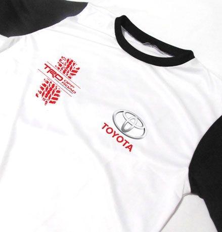 MK048 - Camiseta Bicolor Dry Fit - Estampa TOYOTA TRD OFF ROAD