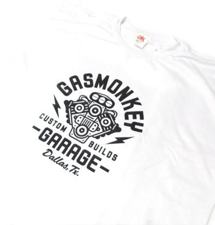 SE003 - Camiseta Estampa - GAS MONKEY GARAGE