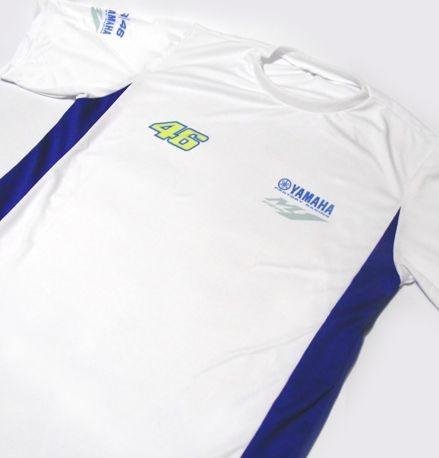 ES151 - Camiseta Bicolor Dry Fit - YAMAHA VR-46