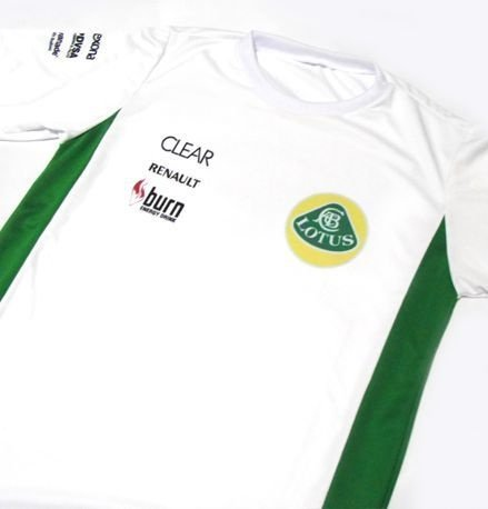 ES156 - Camiseta Bicolor Dri-fity - Estampa LOTUS F1