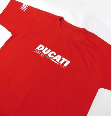 FR008 - Camiseta Estampa DUCATI CORSE - MOTO GP