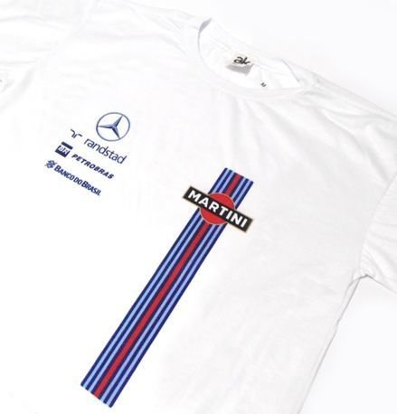 ES161 - Camiseta Dry Fit - Martini WILLIAMS F1