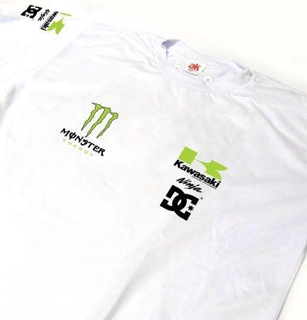 ES163 - Camiseta Dry Fit - KAWAZAKI NINJA - MOTO GP
