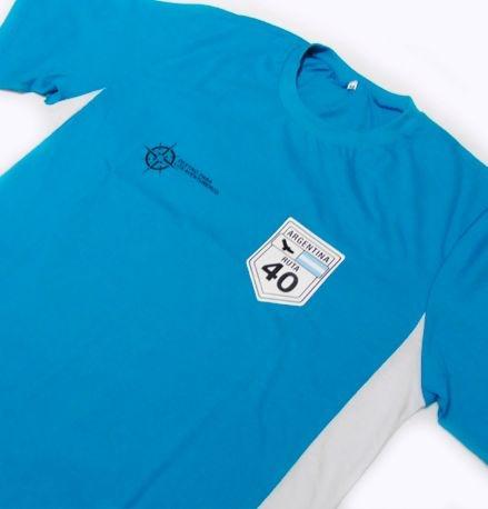 FR030 - Camiseta Bicolor - Adventure ROTA 40 Argentina