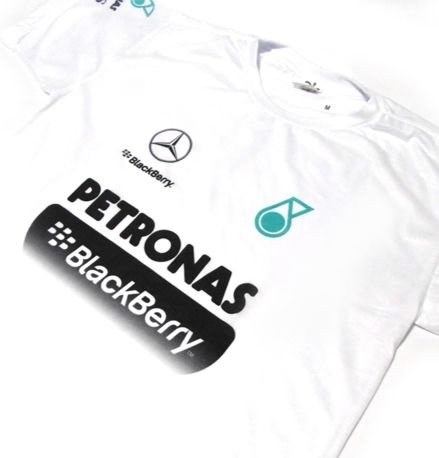 ES165 - Camiseta Dry Fit - Estampa PETRONAS BLACKBERRY - F1