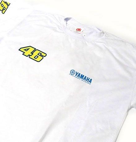 ES167 - Camiseta Dry Fit - Estampa Equipe VALENTINO ROSSI - MOTO GP