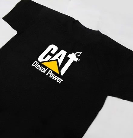 FR042 - Camiseta Estampa CAT CATERPILLAR - DIESEL POWER