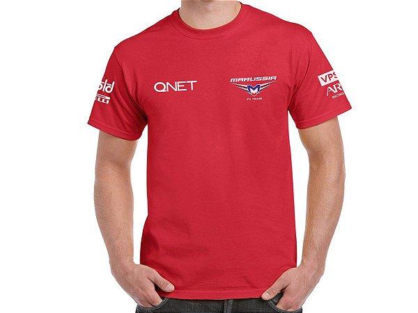 FR220 - Camiseta MARUSSIA - F1 - Mod2 - Brasão
