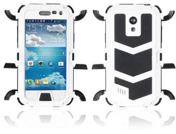 Capa Case Blindada proteção Militar para Samsung Galaxy S4 Mini