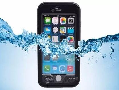 Capa a Prova De Água Para iPhone 6/6S Plus - Preto