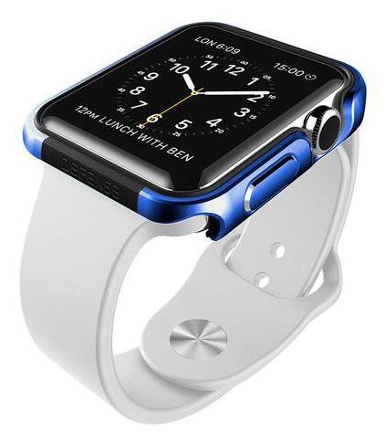 "Capa X-Doria Defense Edge para Apple Watch 42"" - Azul"