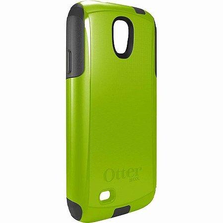 Capa Otterbox Commuter p/ Samsung S4 - Verde e Cinza