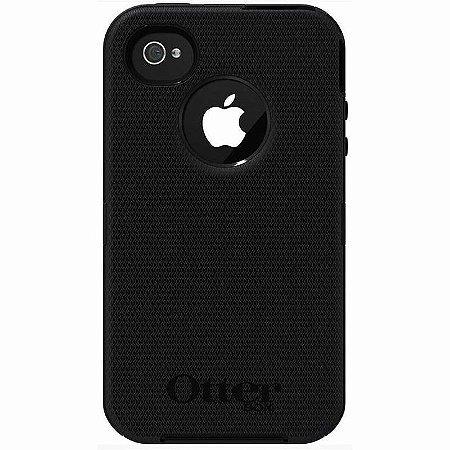 Capa Otterbox Defender para iPhone 4 / 4S - Preto
