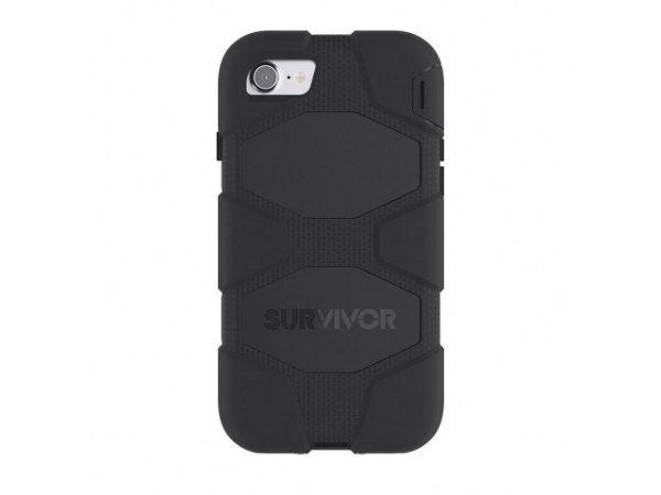 Capa Griffin Survivor All Terrain para iPhone 7 - Preto