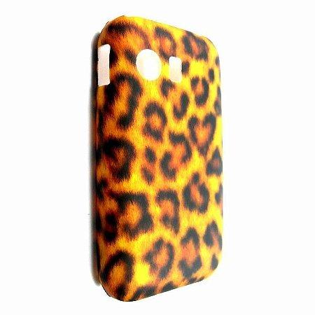 Capa Case para Samsung Galaxy Y S5360 Onça Animal Print