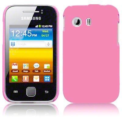 Capa Case Samsung Galaxy Y Plástico Rosa.