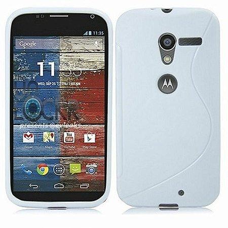Capa Case para Motorola Moto X de TPU Branco