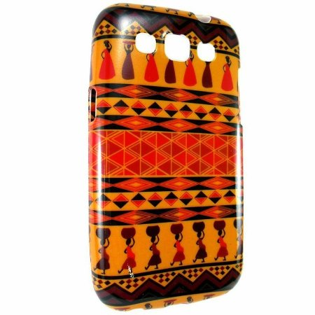 Capa Case Étnica Tribos da África para Samsung Galaxy Win