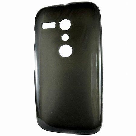 Capa Case de TPU Preto para Motorola Moto G