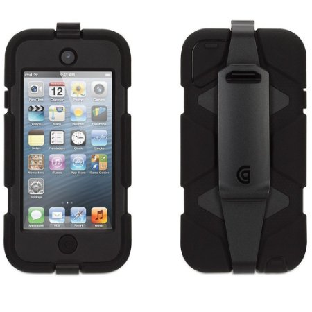 Capa Griffin Survivor para iPod Touch 5 e 6 - Preto
