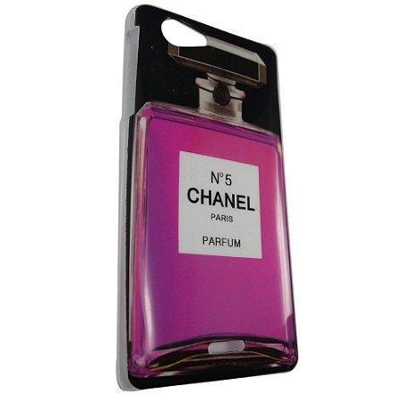 Capa Case Sony Xperia J Perfume Chanel Nº 5 .