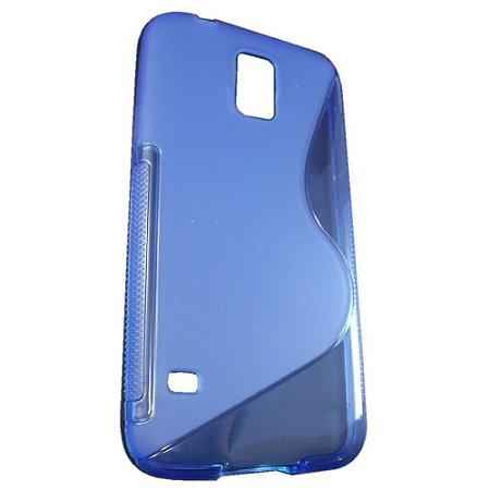 Capa Case S Type para Samsung Galaxy S5 de TPU Azul .